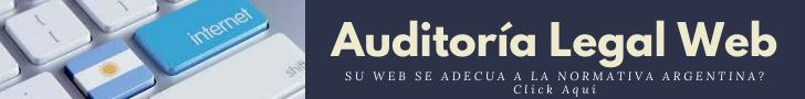 Click Aquí para conocer esté Servicio de Auditoría Legal Web en Argentina